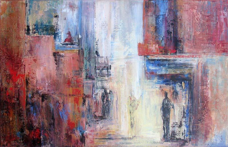 Schilderijen toos van holstein - Entree schilderij ...